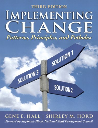Implementing Change Patterns, Principles, and Potholes 3rd 2011 edition cover