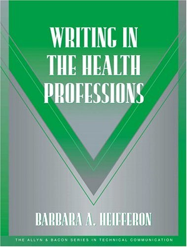 Writing in the Health Professions   2005 edition cover