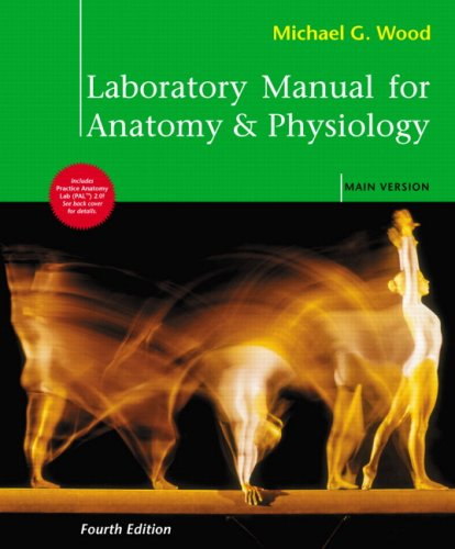 Laboratory Manual for Anatomy and Physiology, Main Version  4th 2010 edition cover