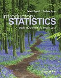 Introductory Statistics Exploring the World Through Data 2nd edition cover