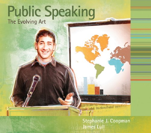 Public Speaking The Evolving Art  2009 (Workbook) 9780495554271 Front Cover