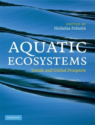 Aquatic Ecosystems Trends and Global Prospects  2008 9780521833271 Front Cover