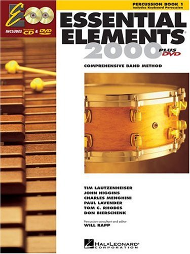 Essential Elements for Band Percussion/Keyboard Percussion  2004 edition cover