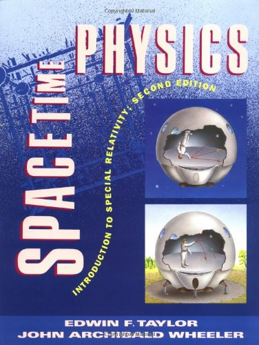 Spacetime Physics  2nd 1992 edition cover