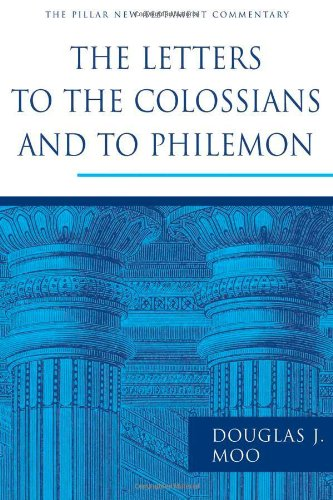Letters to the Colossians and to Philemon   2008 edition cover