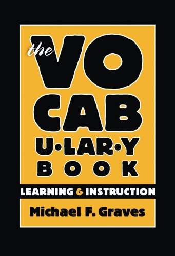 Vocabulary Book Learning and Instruction  2006 edition cover