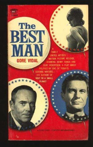 Best Man A Play about Politics  2001 (Revised) edition cover