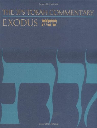 JPS Torah Commentary - Exodus  N/A edition cover