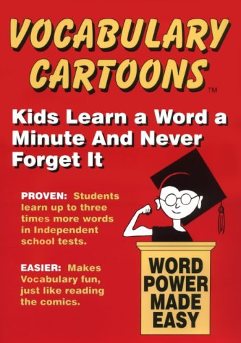 Vocabulary Cartoons : Elementary Edition 1st 9780965242271 Front Cover