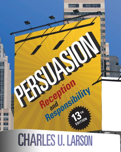 Persuasion Reception and Responsibility 13th 2013 edition cover