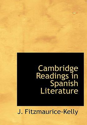 Cambridge Readings in Spanish Literature N/A 9781113639271 Front Cover