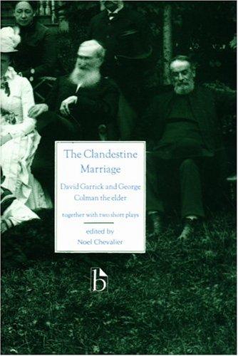 Clandestine Marriage   1995 edition cover