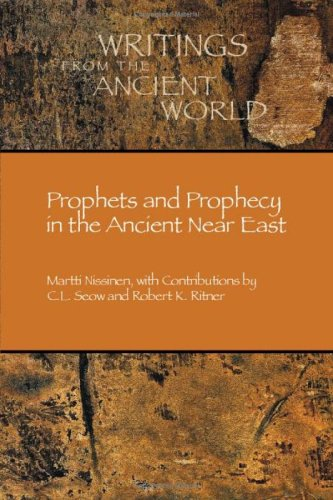 Prophets and Prophecy in the Ancient near East   2003 edition cover