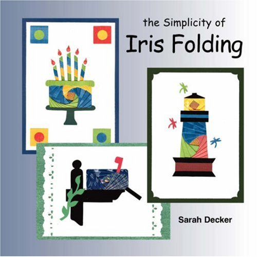 Simplicity of Iris Folding  N/A edition cover