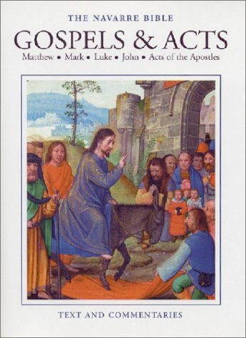 Gospels and Acts Matthew, Mark, Luke, John and Acts of the Apostles  2000 (Revised) edition cover