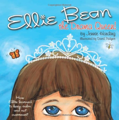 Ellie Bean the Drama Queen   2011 9781935567271 Front Cover