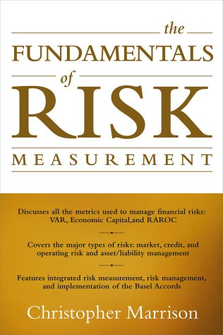 Fundamentals of Risk Measurement   2002 9780071386272 Front Cover
