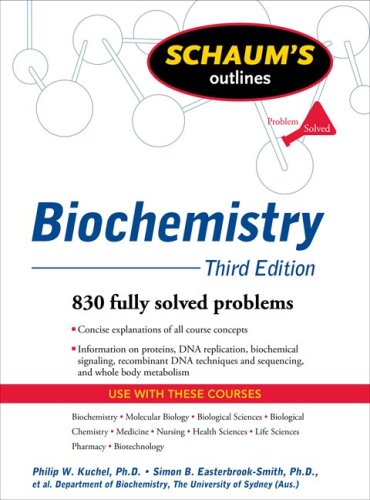 Biochemistry 830 Fully Solved Problems 3rd 2010 (Revised) edition cover