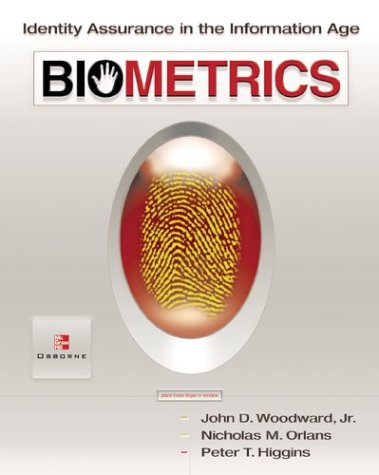 Biometrics and Strong Authentication   2003 edition cover