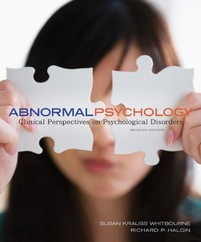 Abnormal Psychology Clinical Perspectives on Psychological Disorders 7th 2013 edition cover