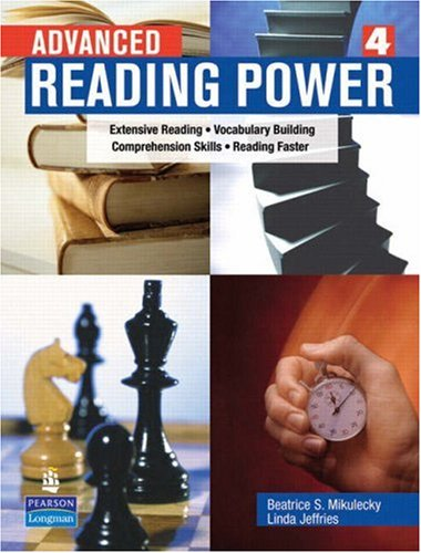 Advanced Reading Power   2007 edition cover