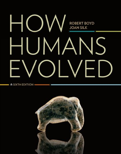 How Humans Evolved  6th 2011 edition cover