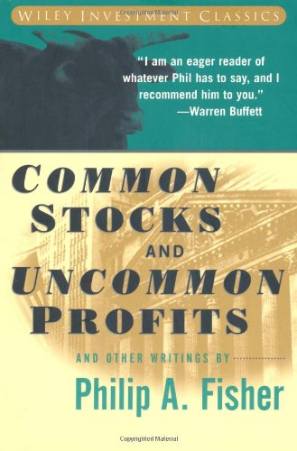 Common Stocks and Uncommon Profits and Other Writings   1996 9780471119272 Front Cover