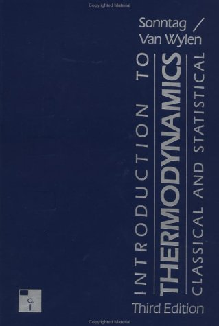 Introduction to Thermodynamics, Classical and Statistical  3rd 1991 (Revised) edition cover