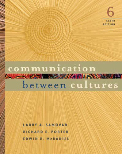 Communication Between Cultures  6th 2007 edition cover