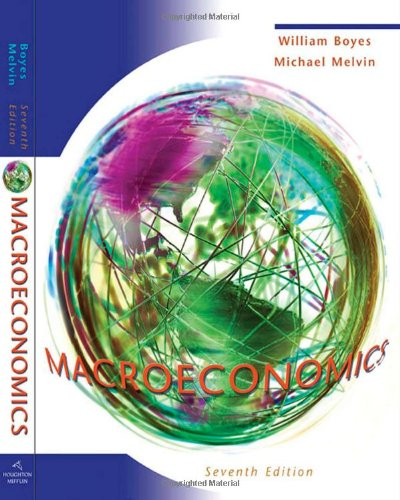 Macroeconomics  7th 2008 edition cover