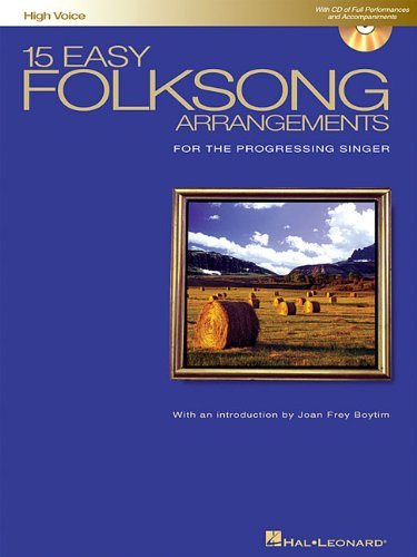 15 Easy Folksong Arrangements For the Progressing Singer N/A edition cover