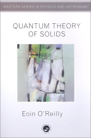 Quantum Theory of Solids   2002 9780748406272 Front Cover