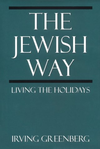 Jewish Way Living the Holidays N/A 9780765760272 Front Cover