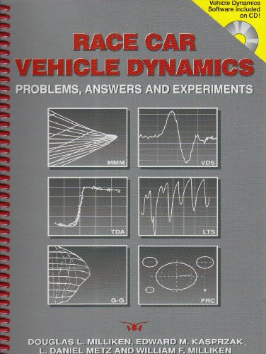 Race Car Vehicle Dynamics Problems, Answers, and Experiments  2003 9780768011272 Front Cover