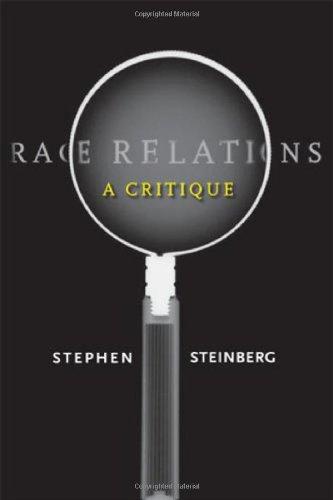 Race Relations A Critique  2007 edition cover