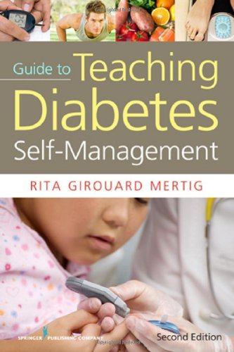 Nurses' Guide to Teaching Diabetes Self-Management  2nd 2012 edition cover
