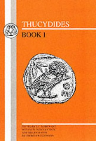 Thucydides  2nd 1982 (Revised) edition cover