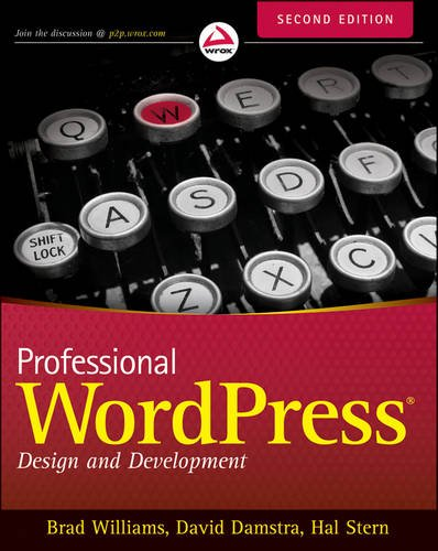 Professional WordPress� Design and Development 2nd 2013 edition cover