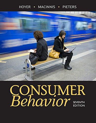 Consumer Behavior:   2017 9781305507272 Front Cover