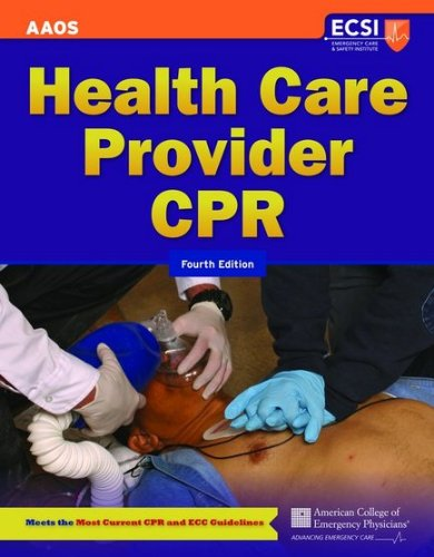 Health Care Provider CPR  4th 2012 edition cover