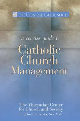 Concise Guide to Catholic Church Management   2010 edition cover