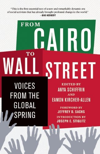 From Cairo to Wall Street Voices from the Global Spring  2012 edition cover