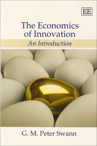 Economics of Innovation An Introduction  2009 9781848440272 Front Cover