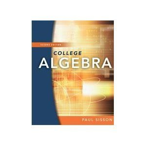 College Algebra 2nd edition Hardcover 2nd 2008 edition cover