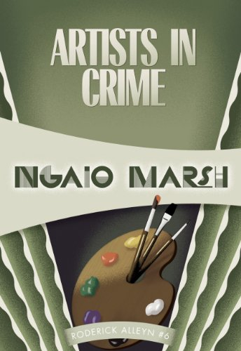 Artists in Crime   2012 edition cover