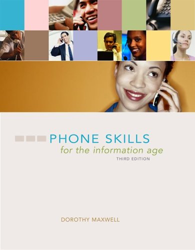 Phone Skills for the Information Age  3rd 2006 edition cover