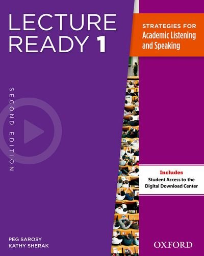 Lecture Ready, Level 1  2nd 2013 (Student Manual, Study Guide, etc.) edition cover