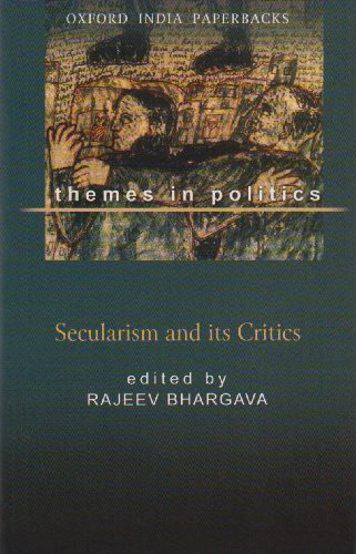 Secularism and Its Critics   1999 9780195650273 Front Cover