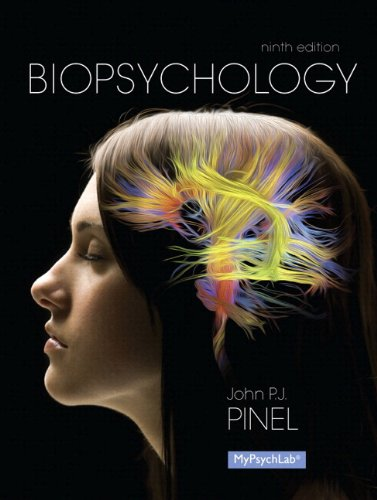 NEW MyPsychLab with Pearson EText -- Standalone Access Card -- for Biopsychology  9th 2014 edition cover