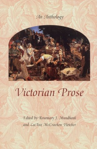 Victorian Prose An Anthology  1999 edition cover
